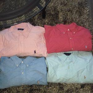 Ralph Lauren Long Sleeve Button Down Shirts